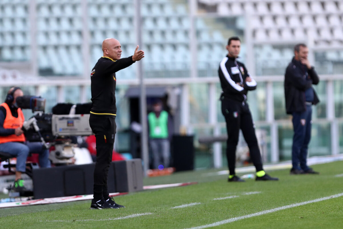 Eugenio Corini, allenatore Lecce