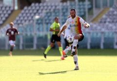 Fabio Lucioni, difensore Lecce