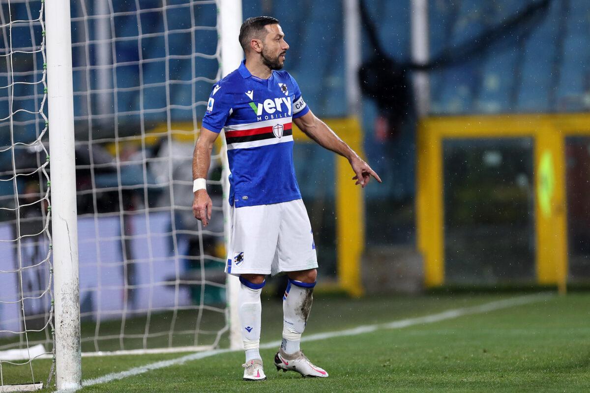 Fabio Quagliarella, attaccante Sampdoria