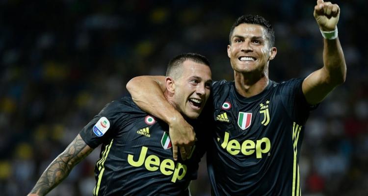 Federico Bernardeschi e Cristiano Ronaldo, Juventus