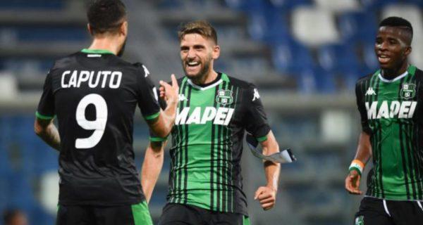 Francesco Caputo, attaccante del Sassuolo