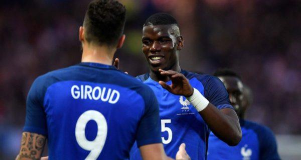 Francia: Giroud e Pogba