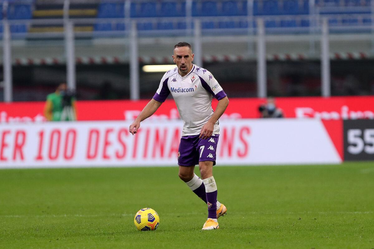 Franck Ribery, attaccante Fiorentina