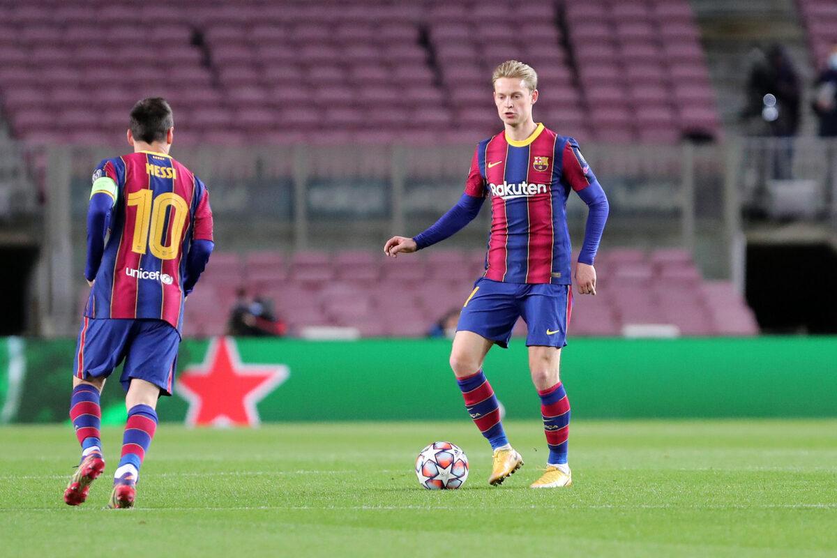 Frenkie de Jong, centrocampista Barcellona