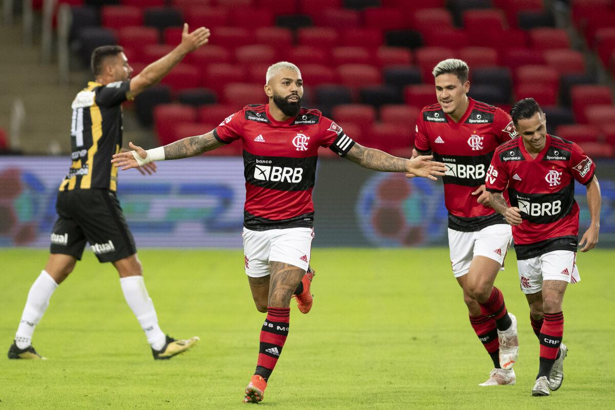 Gabigol, attaccante Flamengo