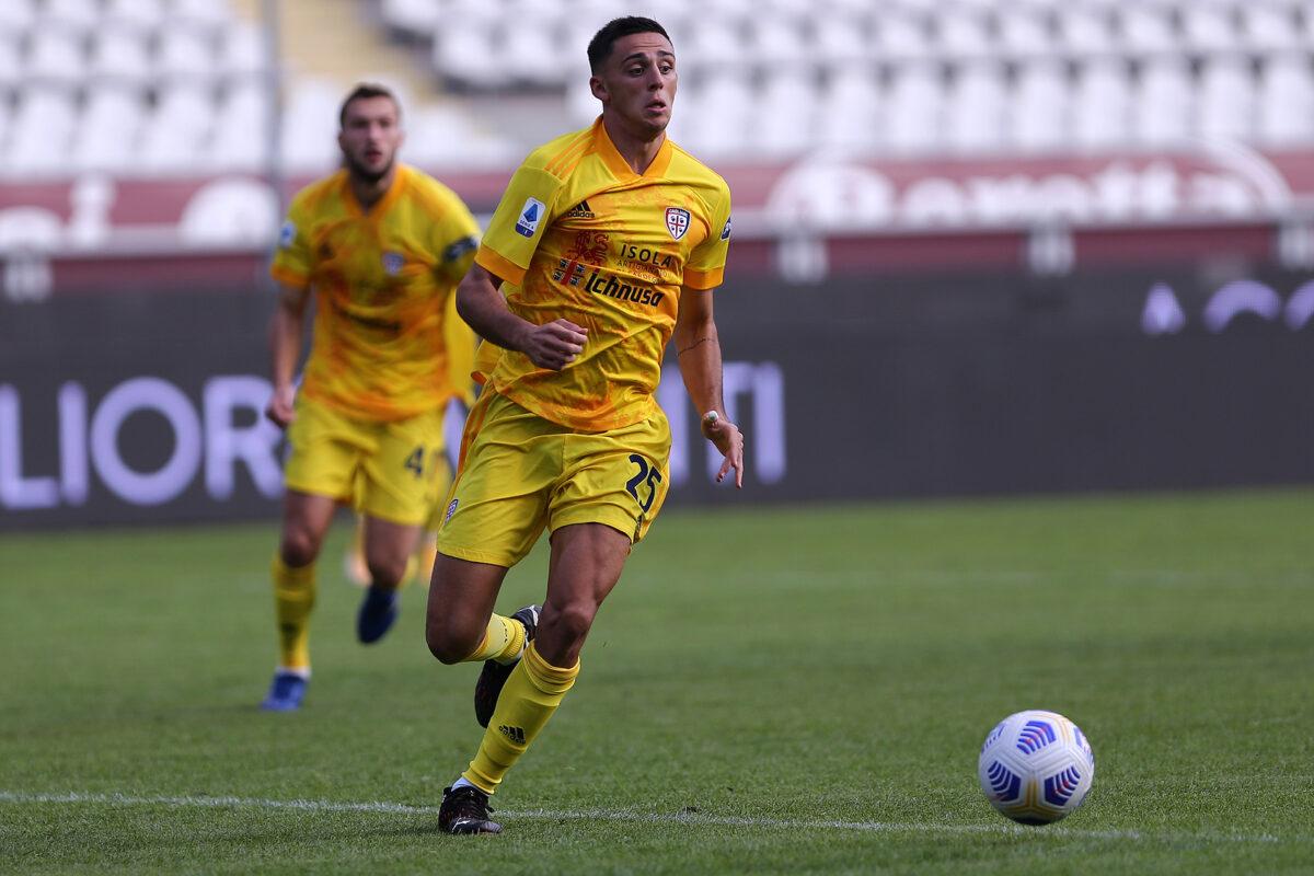 Gabriele Zappa, difensore Cagliari-Italia Under 21