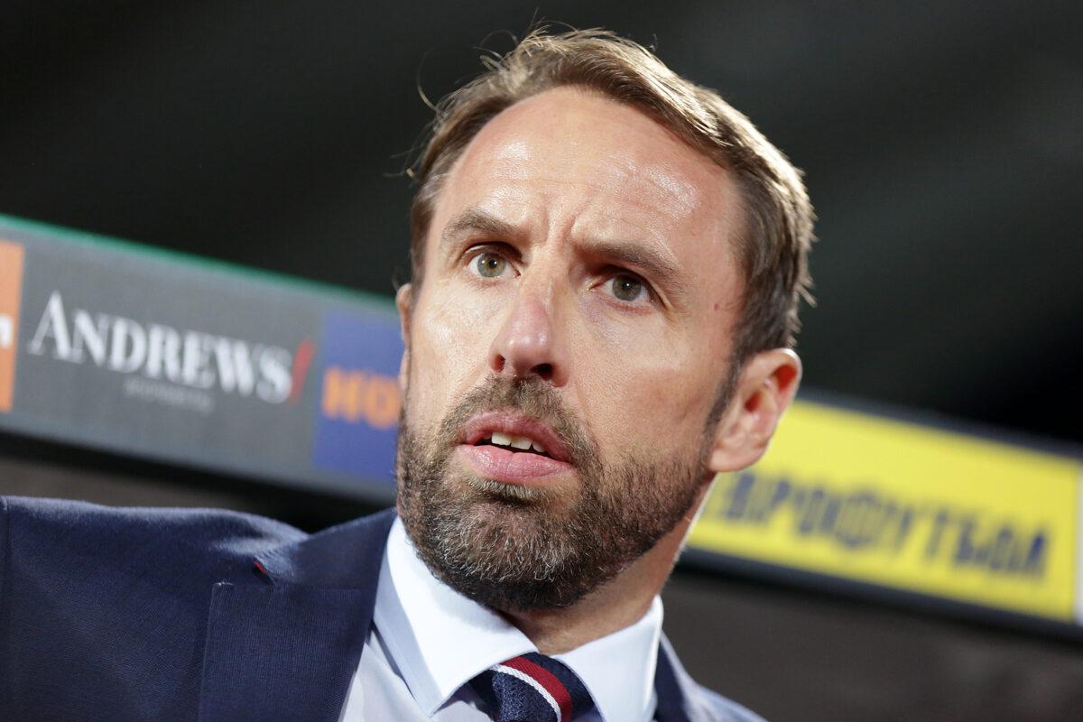 Gareth Southgate, allenatore Inghilterra