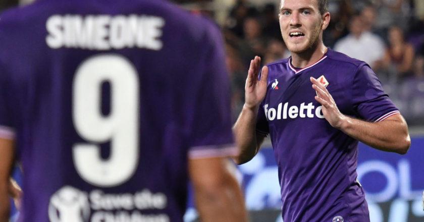 Giovanni Simeone e Jordan Veretout, Fiorentina