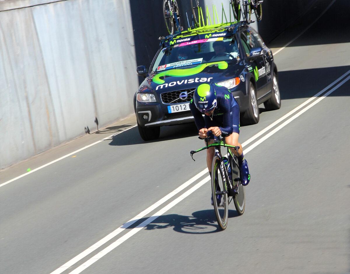 Giovanni Visconti, cronometro ciclismo
