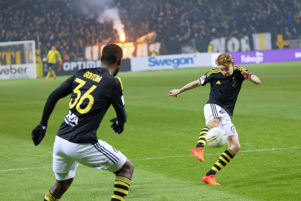 Goitom, attaccante AIK Stoccolma