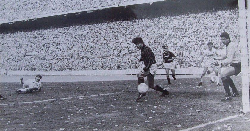 Gol Schachner, Milan-Torino