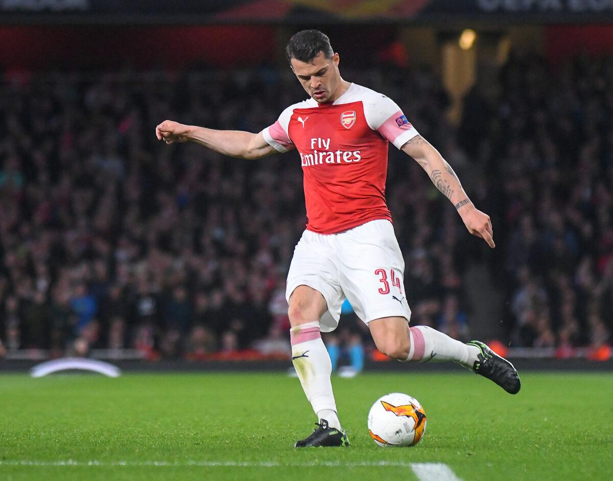 Granit Xhaka, centrocampista Arsenal