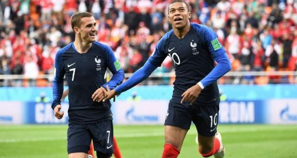 Antoine Griezmann e Kylian Mbappé, Francia, Mondiali 2018