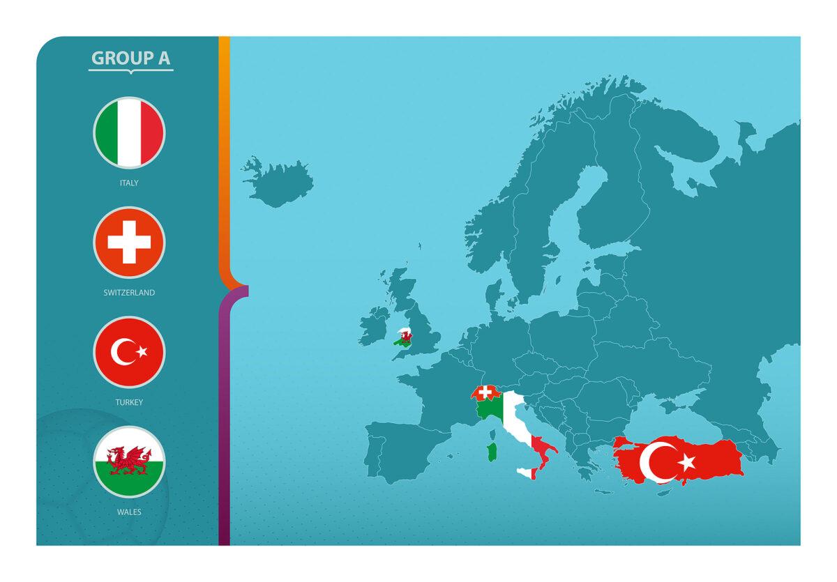 Gruppo A Europei 2021