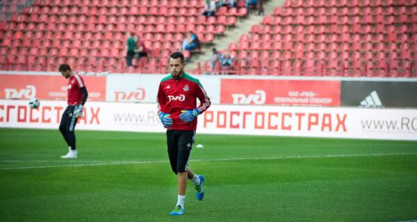 Guilherme Alvim, portiere Lokomotiv Mosca