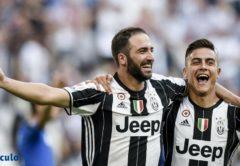 Higuain e Dybala, Juventus