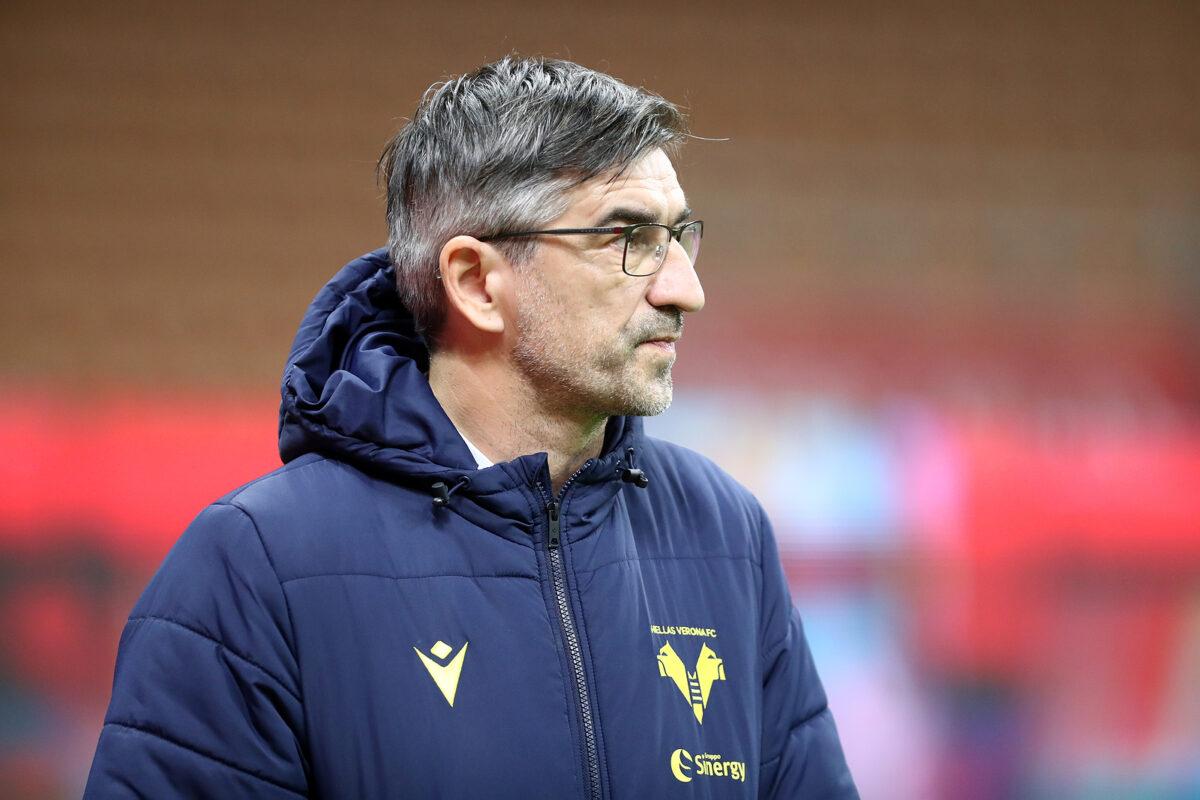 Ivan Juric, allenatore Verona