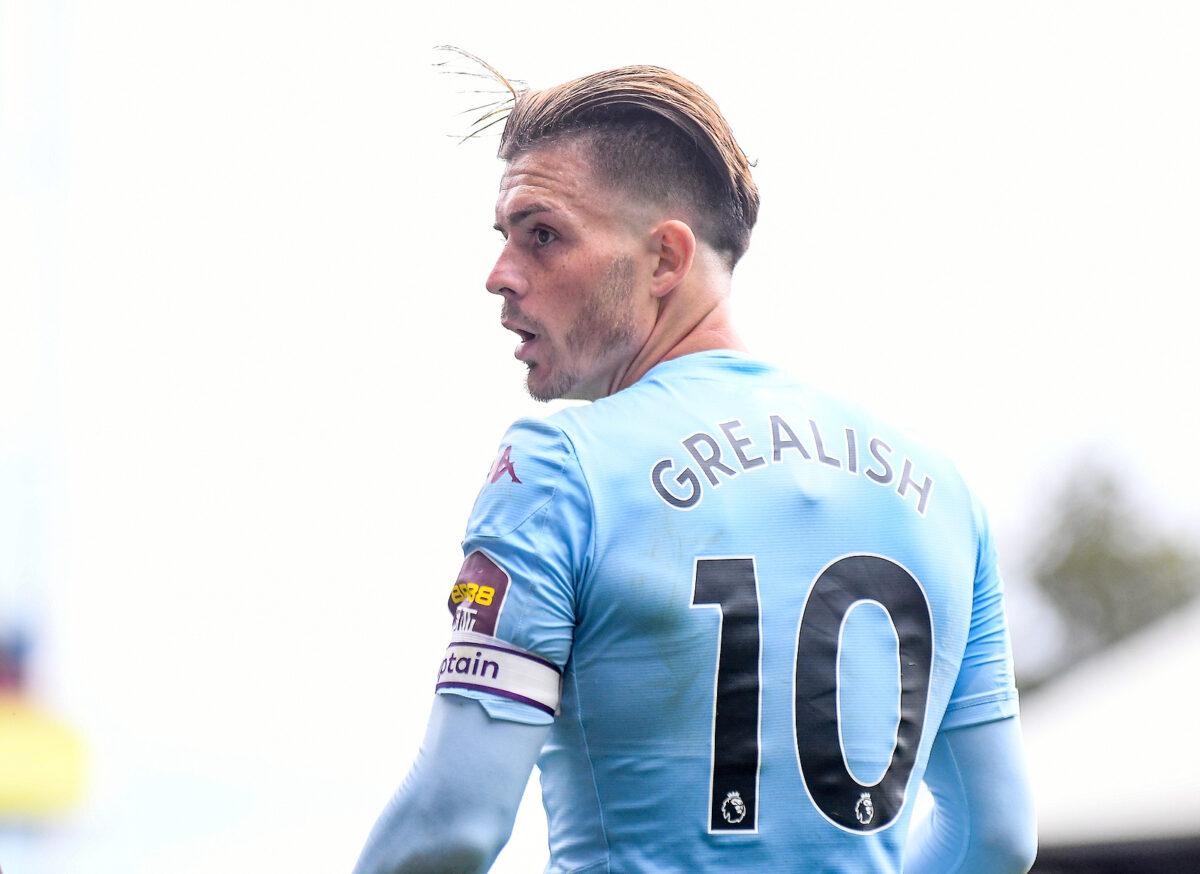 Jack Grealish, centrocampista Aston Villa
