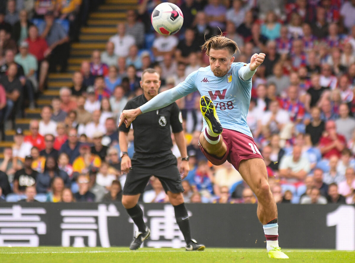 Jack Grealish, trequartista Aston Villa