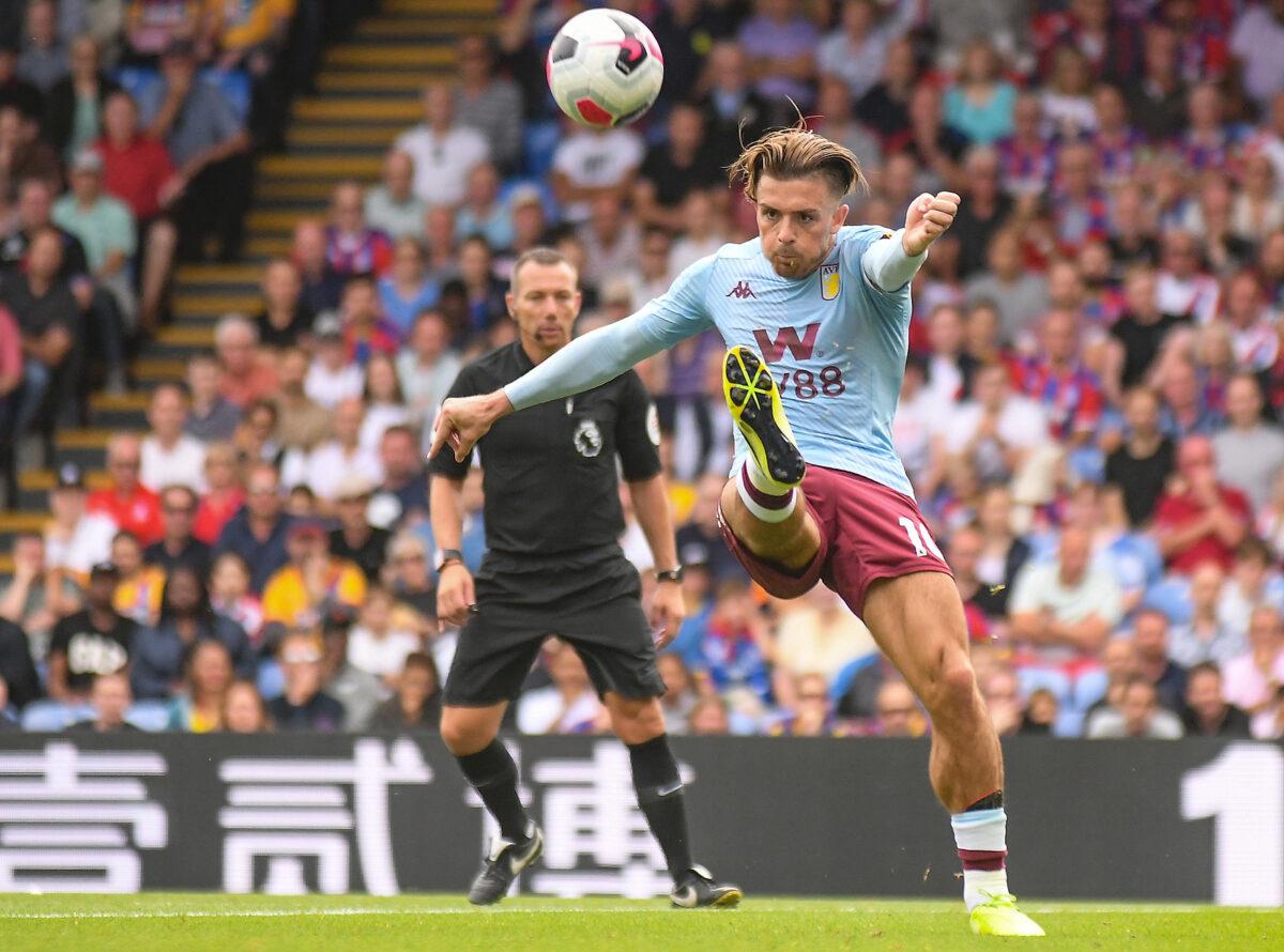 Jack Grealish, trequartista Aston Villa