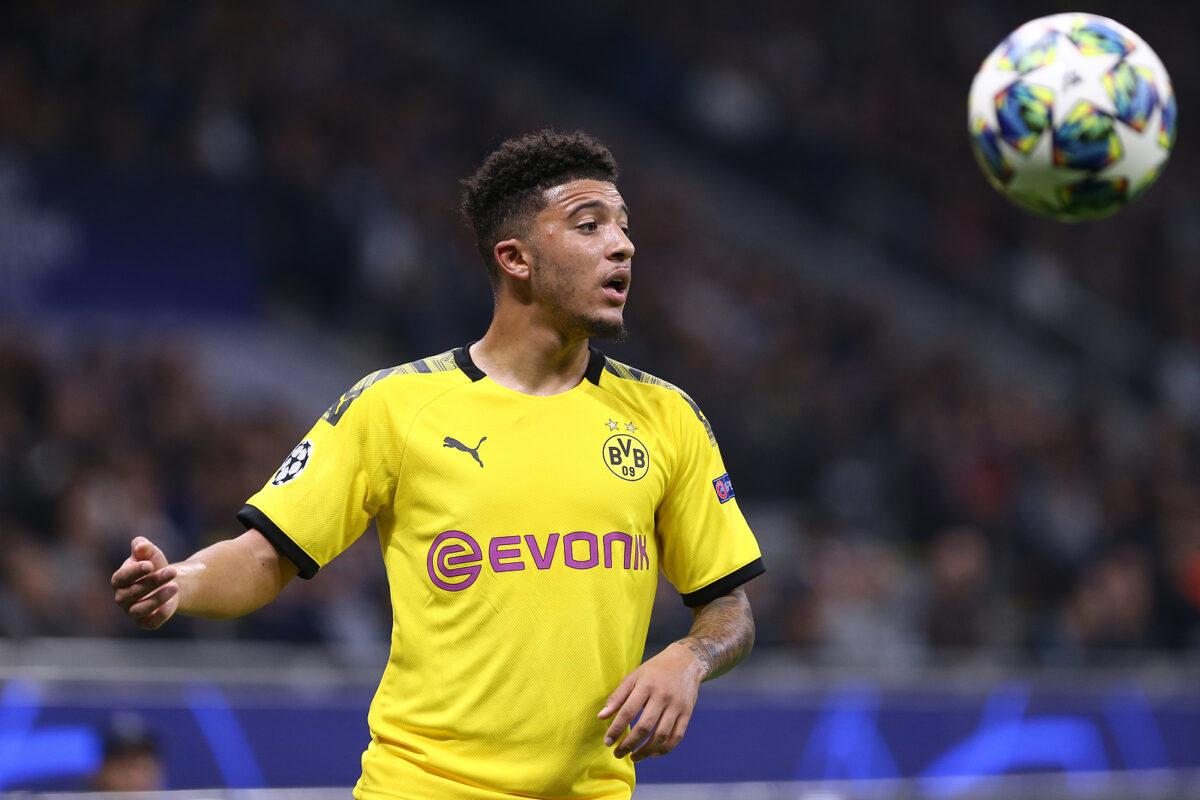 Jadon Sancho, attaccante Borussia Dortmund