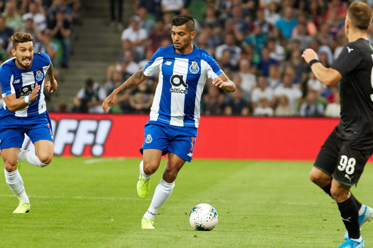 Jesus Corona, centrocampista Porto