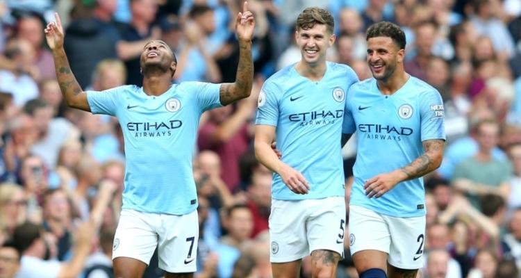 Manchester City: John Stones, Kyle Walker, Raheem Sterling