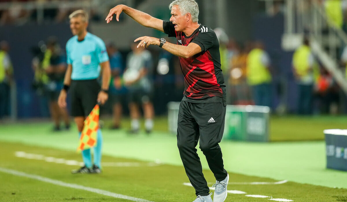 Jose Mourinho, allenatore Roma