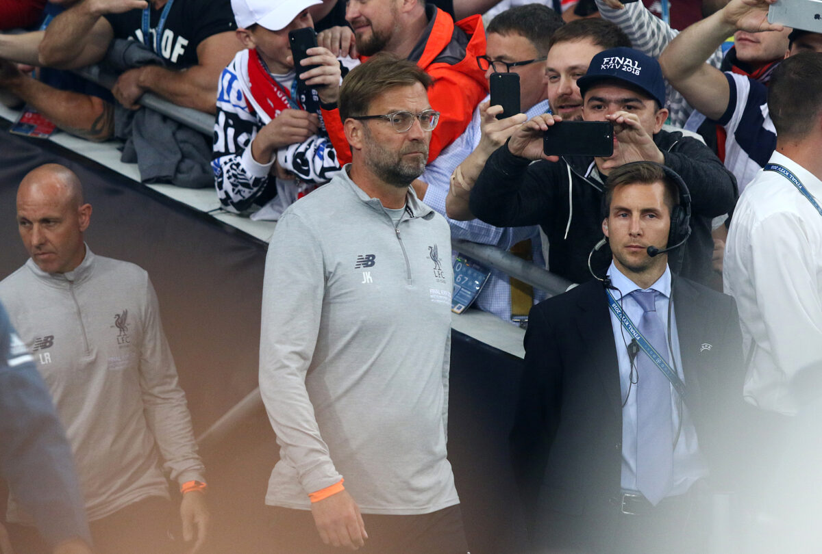 Jurgen Klopp, allenatore Liverpool