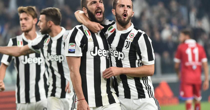 Juventus: Higuain, Pjanic, Rugani, Barzagli.