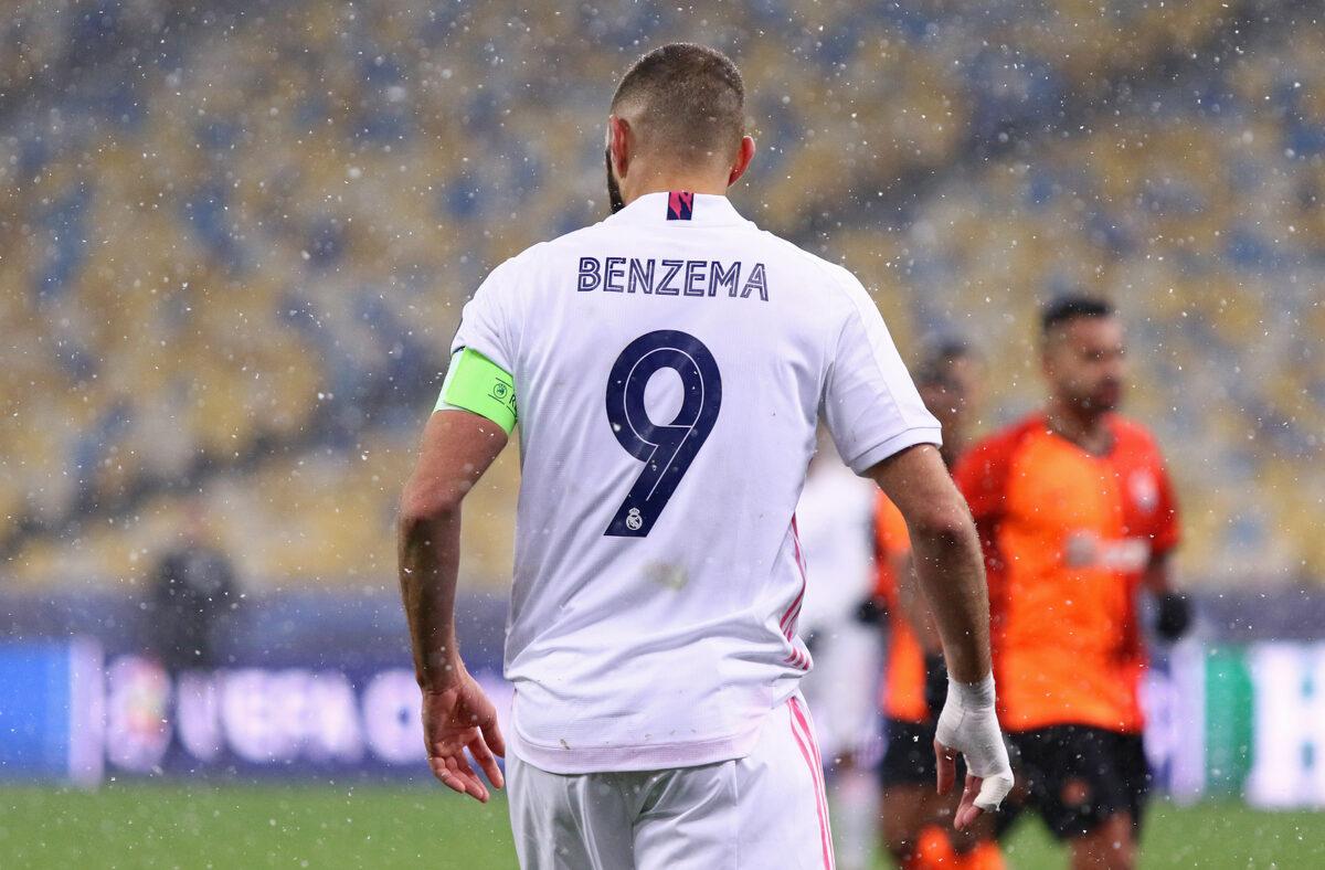 Karim Benzema, attaccante Real Madrid