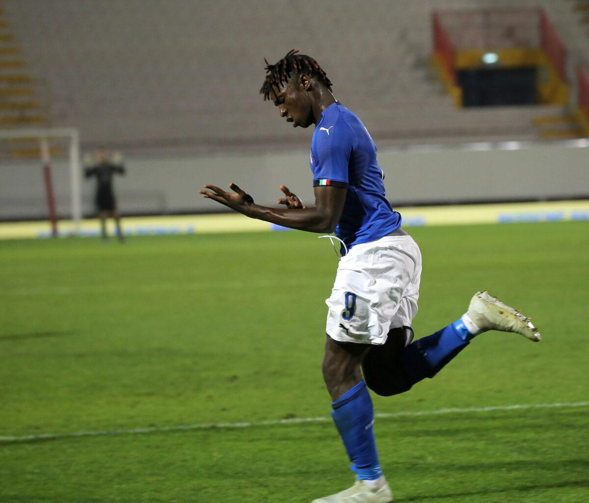 Kean Moise, attaccante Italia