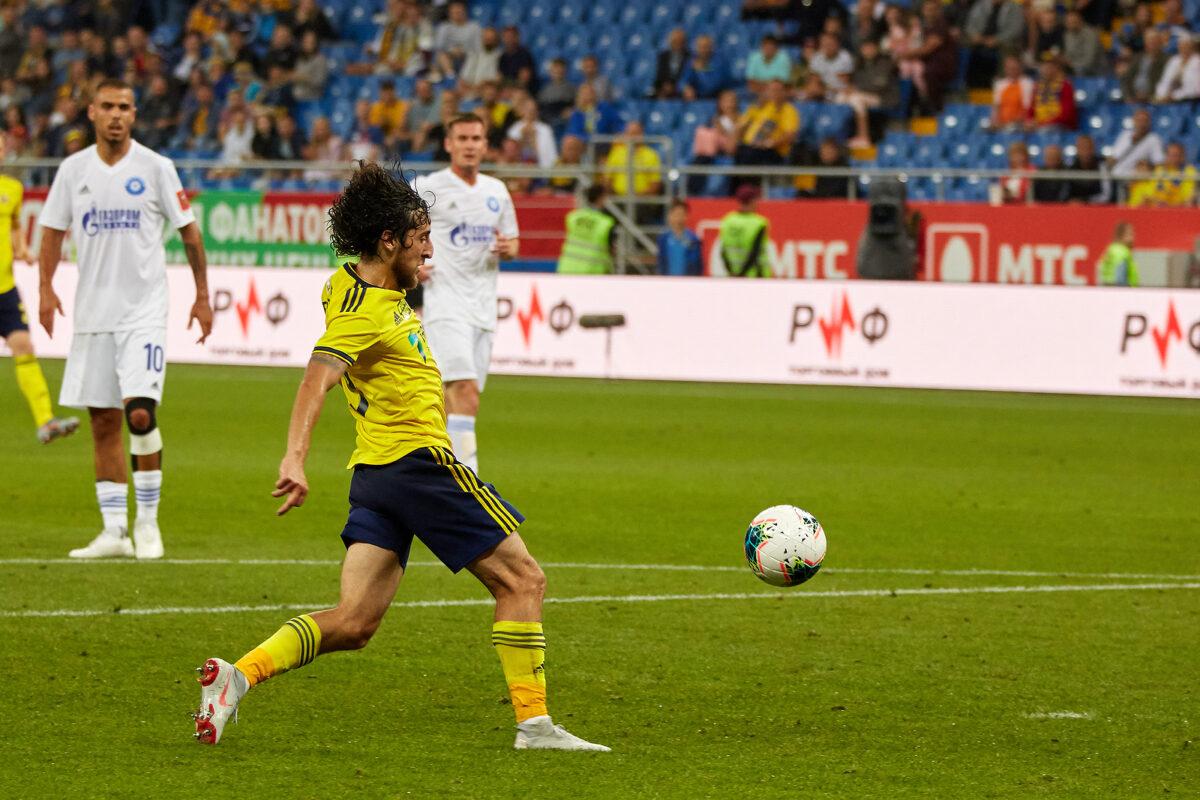 Khoren Bayramyan, centrocampista Rostov