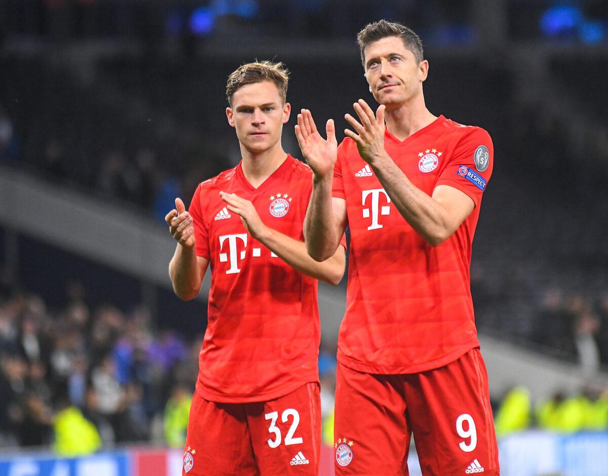 Kimmich e Lewandowski, Bayern Monaco