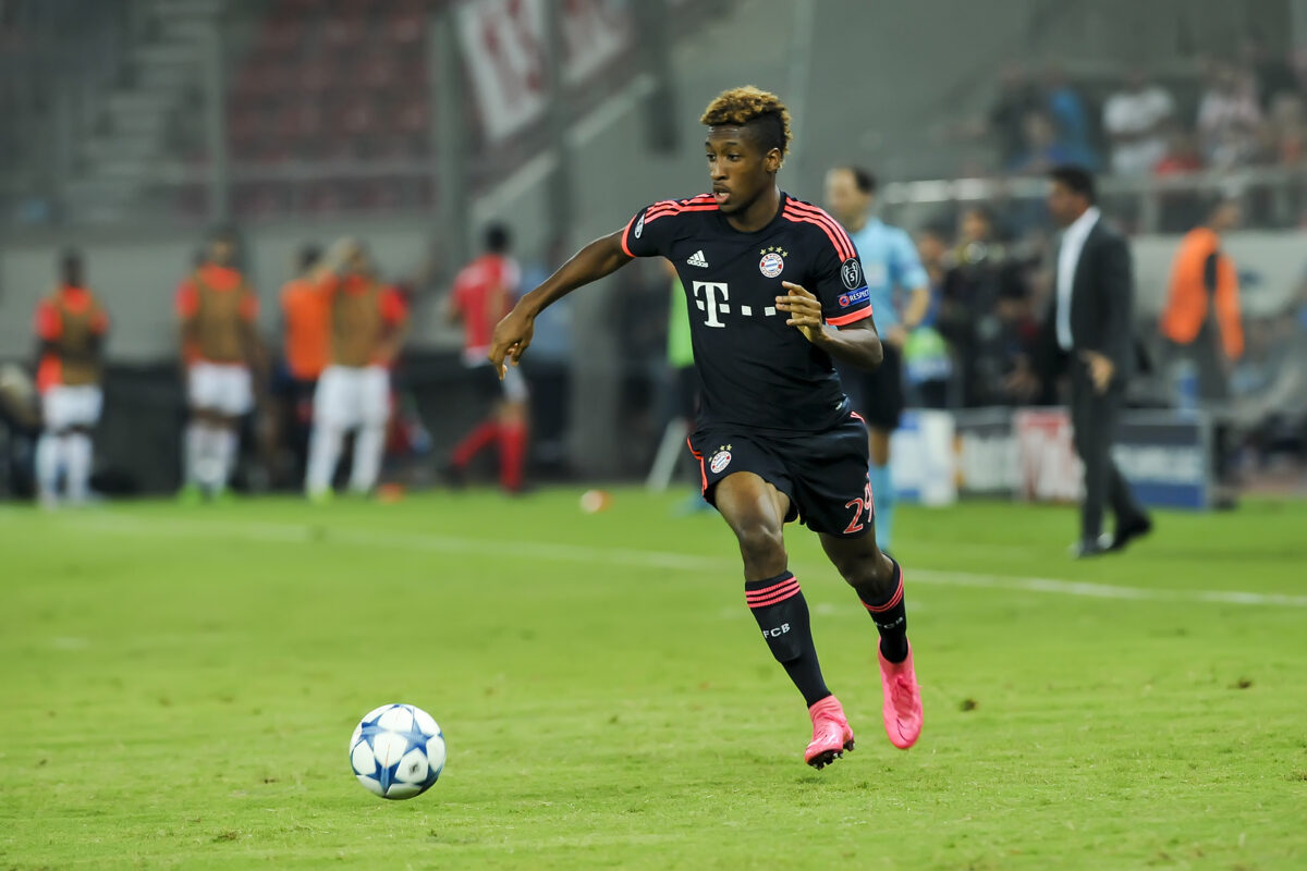 Kingsley Coman, attaccante Bayern Monaco