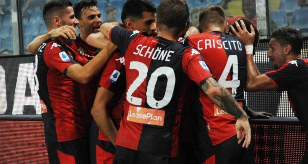 Lasse Schone, centrocampista del Genoa