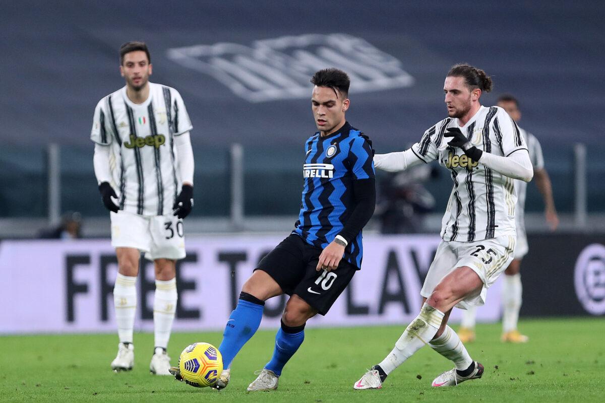 Lautaro Martinez-Rabiot, Juventus-Inter
