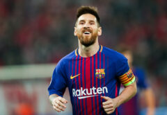 Leo Messi, attaccante Barcellona