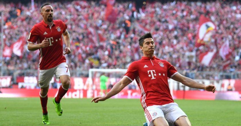 Bayern Monaco: Lewandowski - Ribery
