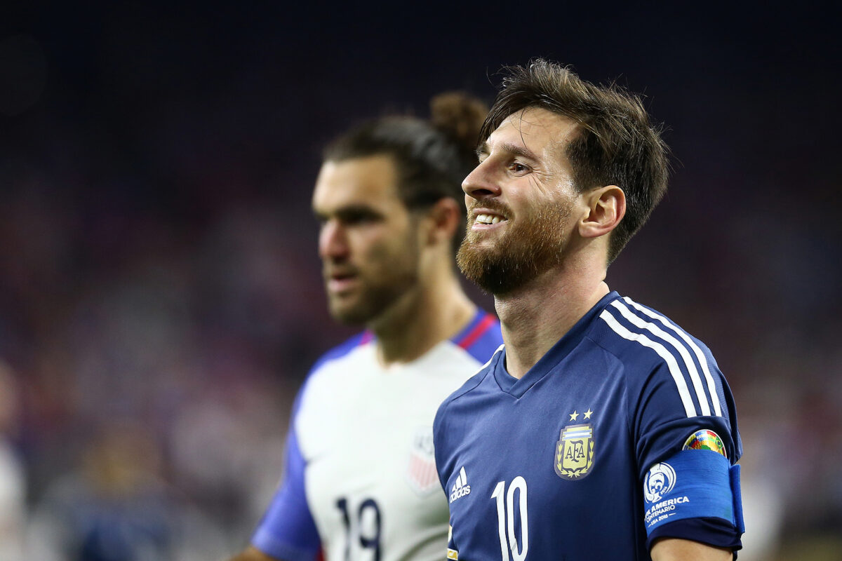 Lionel Messi, attaccante Argentina