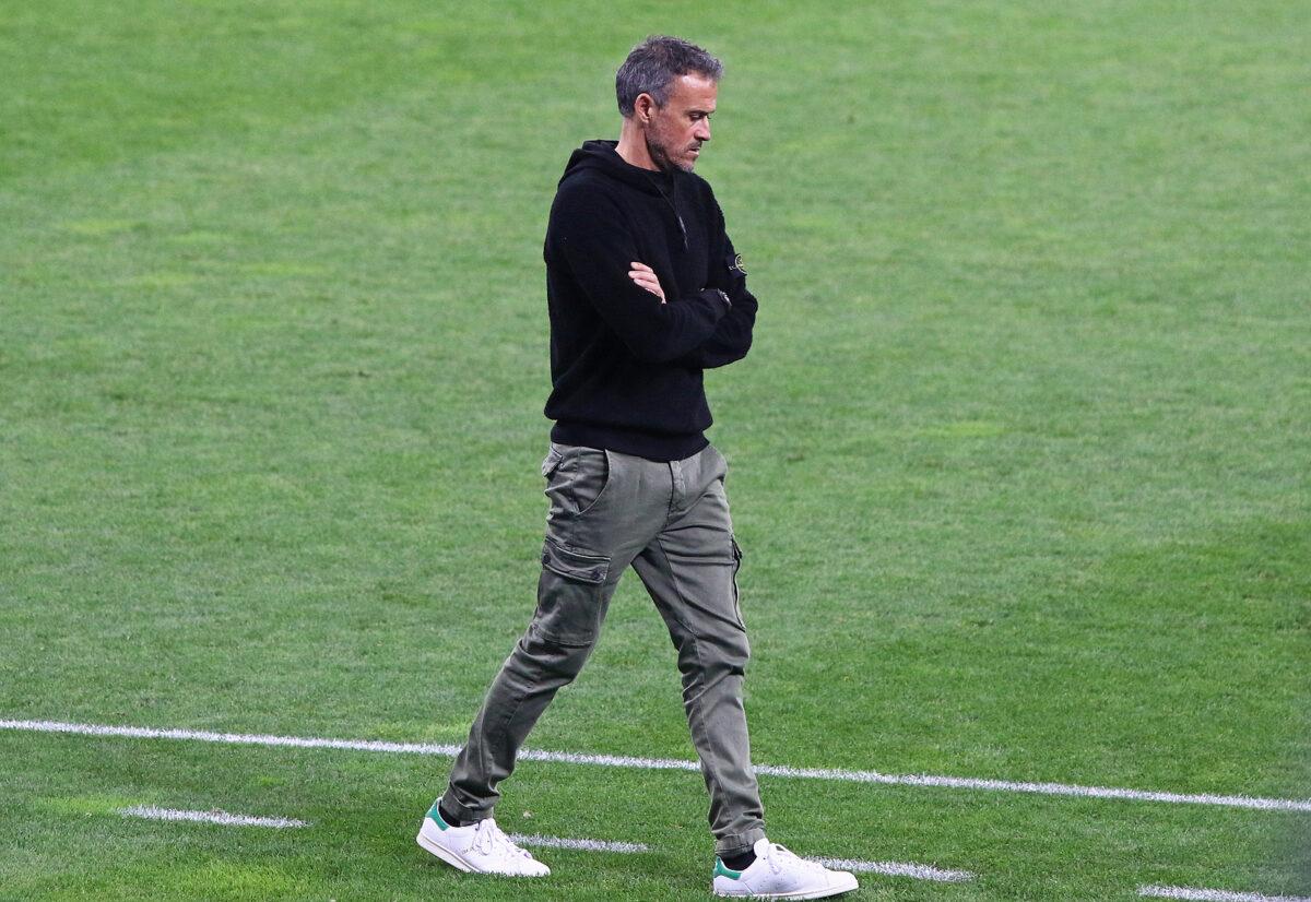 Luis Enrique, allenatore Spagna
