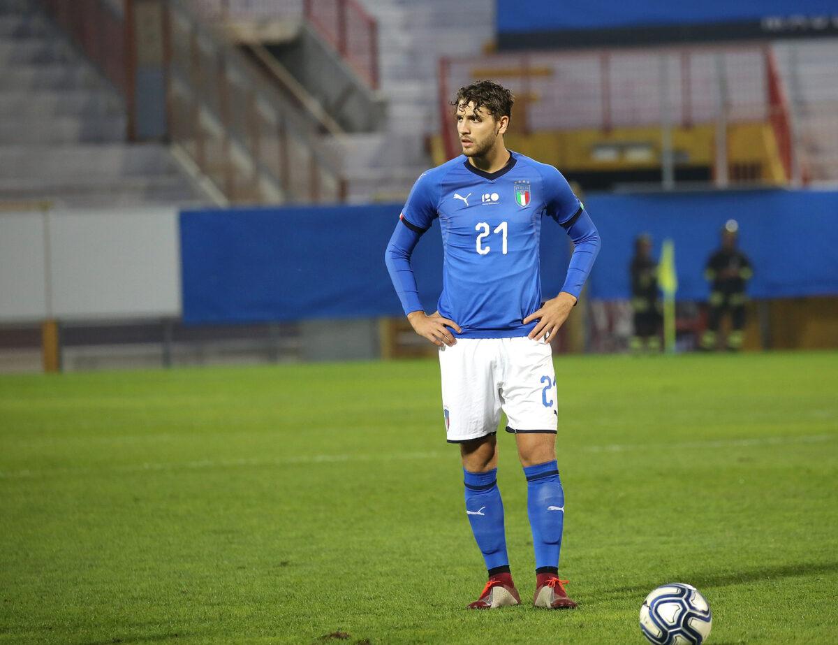 Manuel Locatelli, centrocampista Italia