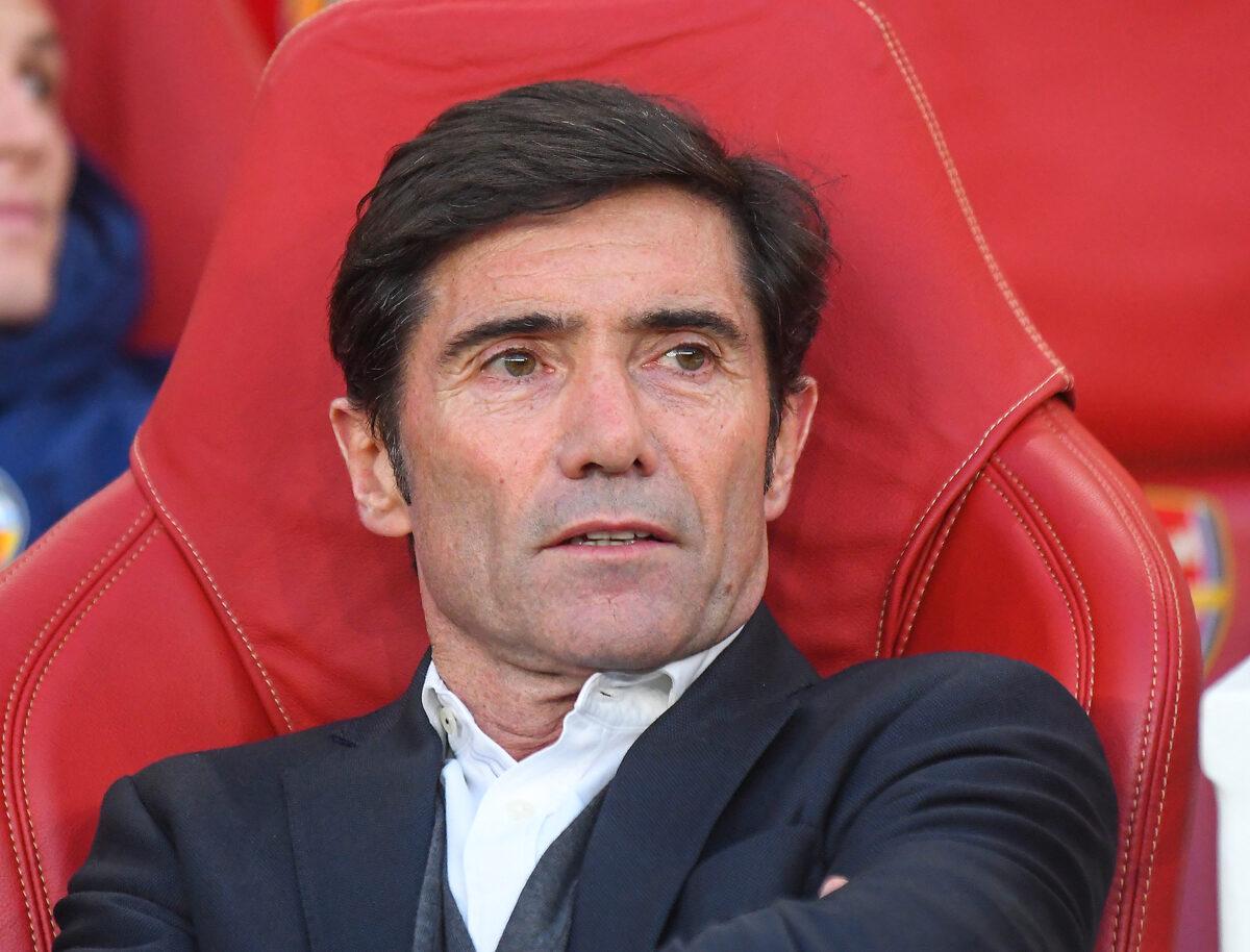 Marcelino, allenatore Athletic Bilbao