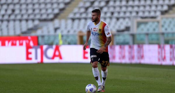 Marco Calderoni, difensore Lecce