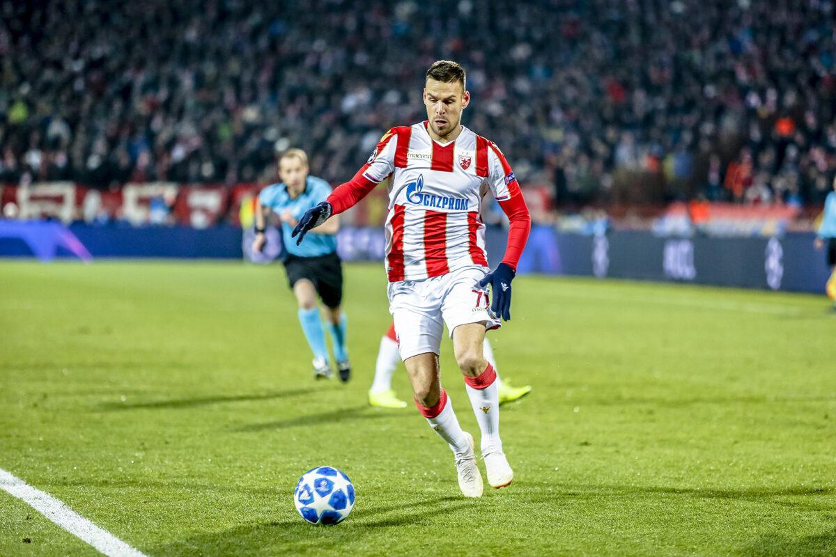 Marko Gobeljic, centrocampista Stella Rossa