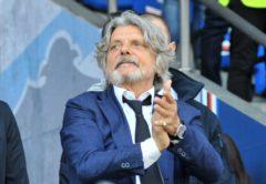 Massimo Ferrero, presidente Sampdoria