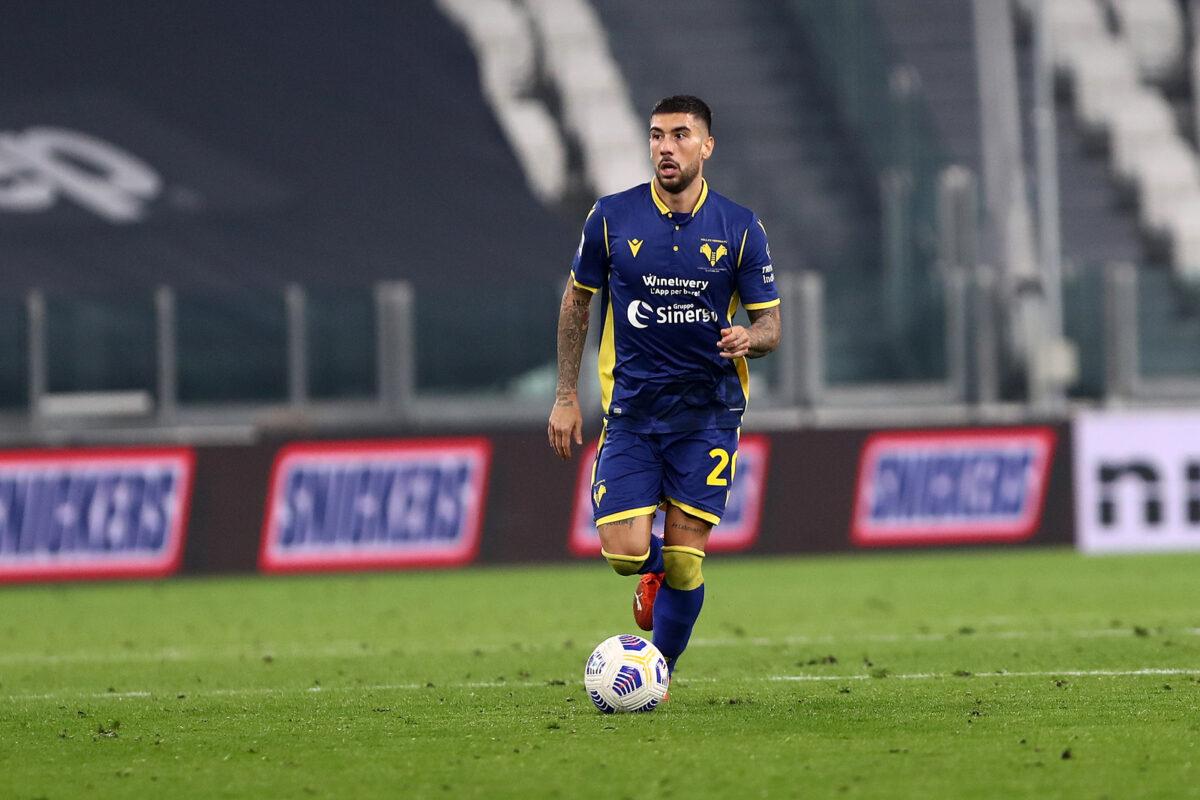 Mattia Zaccagni, trequartista Hellas Verona