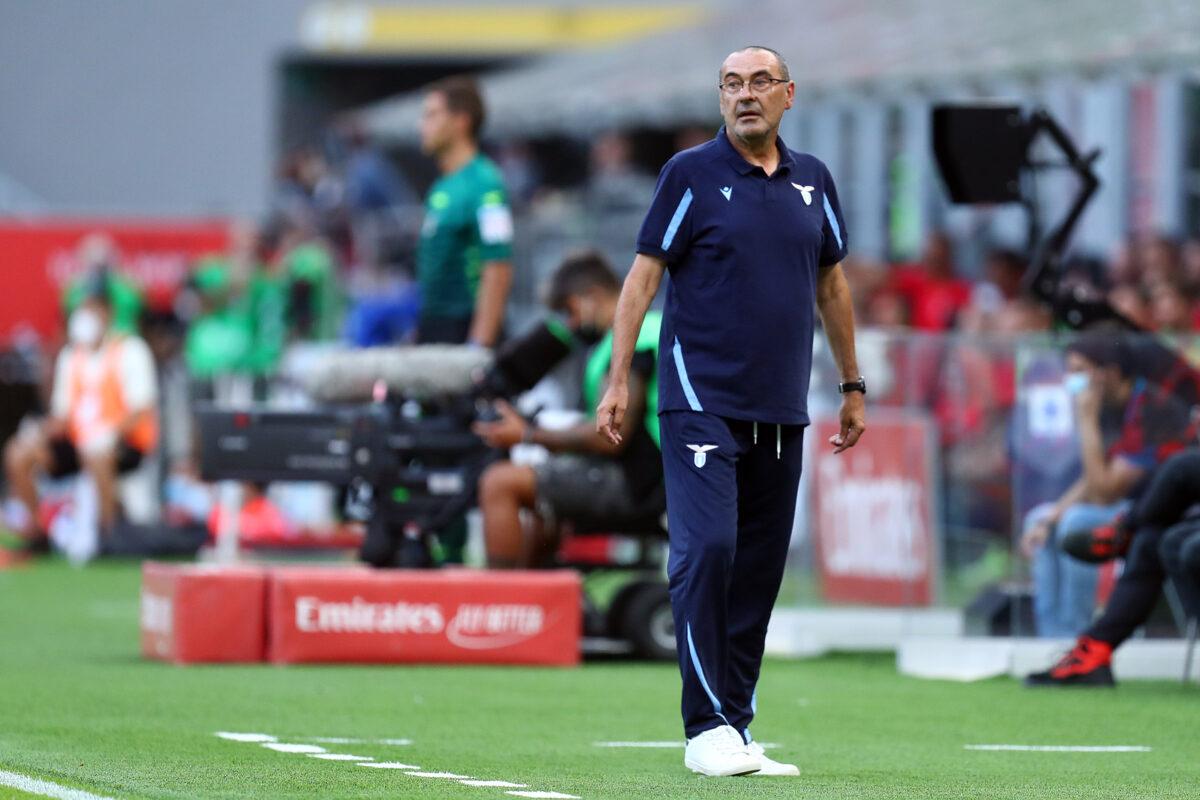 Maurizio Sarri, allenatore Lazio