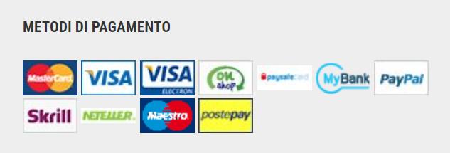 Metodi di pagamento Lottomatica