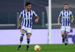 Mikel Merino, centrocampista Real Sociedad